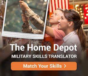 Home Depot Jobs & Careers For Veterans Militarycom