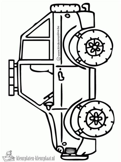 Kleurplaat Tankstation by Kleurplaat Jeep Kleurplaten Tekeningen