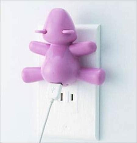 cute bear charger   usb devices gadgetsin