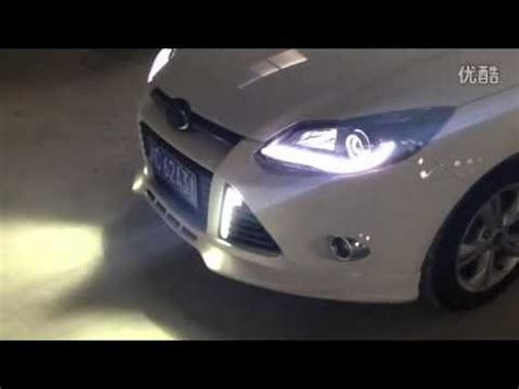 2012 2014 ford focus xenon headlight with led daytime