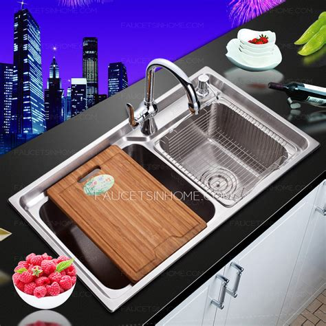 who makes the best kitchen sinks best nickel brushed stainless steel kitchen sinks 2120
