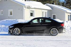 2020 Bmw M2 Cs Spied With Manual Transmission  Yellow