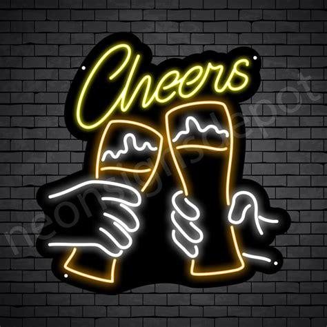 Beer Neon Sign Cheers - Neon Signs Depot