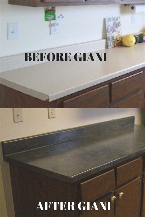 how to paint countertops with giani smallhouseliving