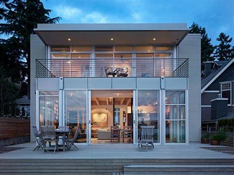 Modern Bungalow House Plans Modern Beach House Plans