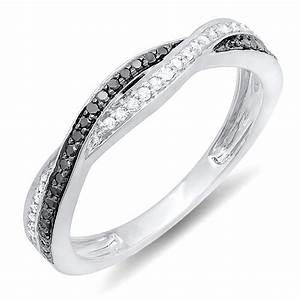 50 best wedding rings for men women heavycom With womens black diamond wedding rings