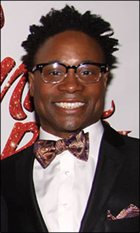 Billy Porter Biography Famous Quotes