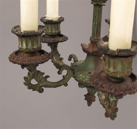 Cast Iron Chandelier by Small Cast Iron Chandelier For 5 Candles Approximately