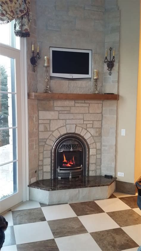 valor iln log fire radiant gas fireplace  insert