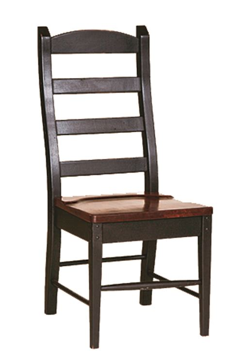 country ladder back chair stock furniture consignment