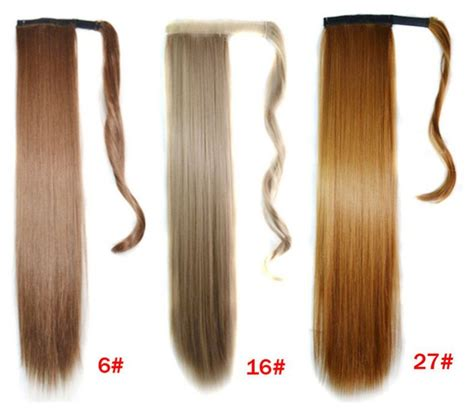 Wholesale Retail 18 Colors Available Drawstring Ponytail
