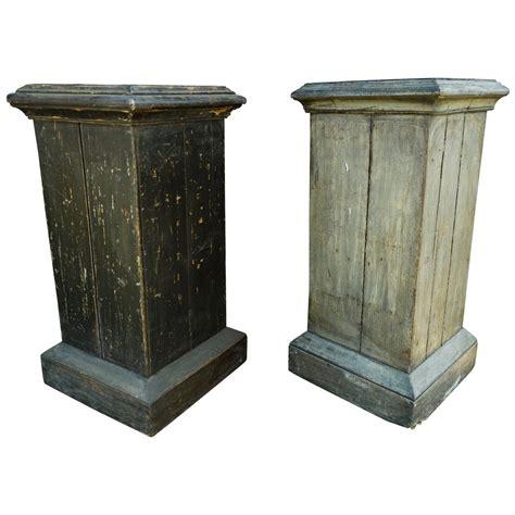 Pedestal Building by Wooden Pedestal For Sale At 1stdibs