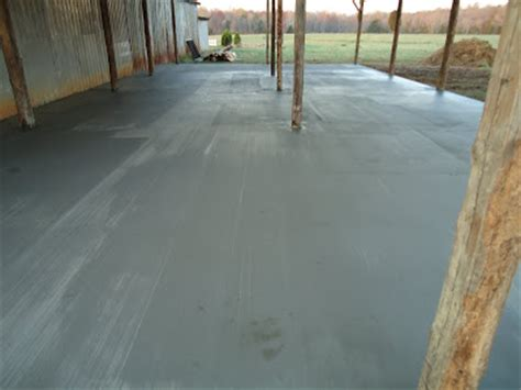 Pole Barn Concrete Floor Cost by The Barn Project Concrete Floor In Pole Barn
