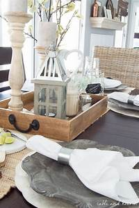 Dining Room Update: A Coastal Farmhouse Table Setting