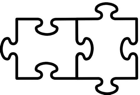 3 Puzzle Pieces Template. puzzle piece template printable. printable ...