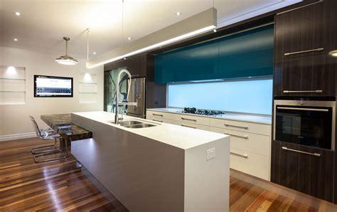 architectural kitchen designs modern gas kitchen with fish tank and open plan pillars 1333