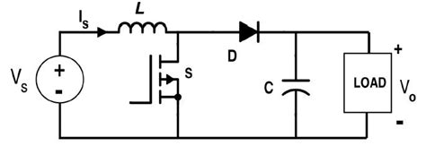 Circuit Diagram Boost Converter From Fig During The