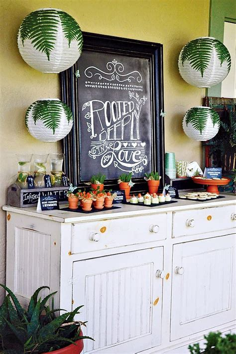 garden themed bridal shower create a memorable bridal shower with these 50 different