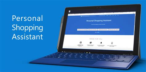 microsoft personal shopping assistant now available on