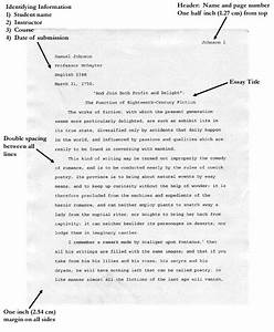 mla format examples how to do mla format how to do an With college essay format