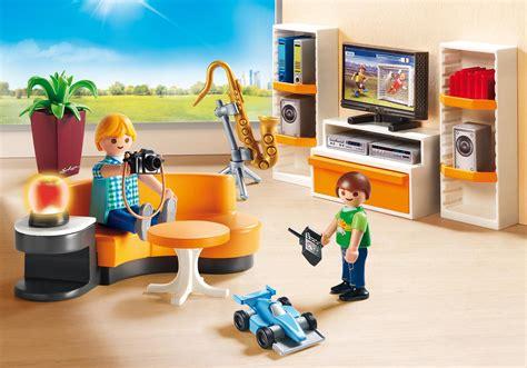 playmobil cuisine moderne living room 9267 playmobil