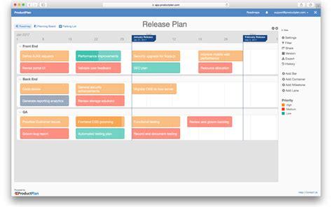 release plan template release plan template