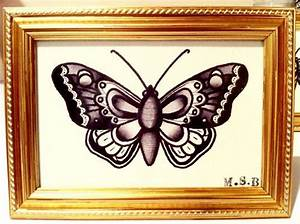 traditional butterfly tattoo - Google Search | Lovely ...
