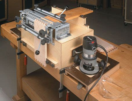 portable dovetail jig workcenter woodsmith plans tools