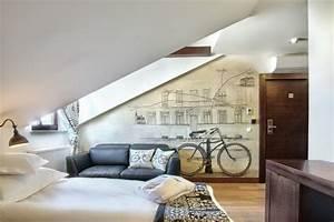 Zimmer Mit Dachschräge Gestalten : schlafzimmer mit dachschr ge gestalten 25 wohnideen ~ Lizthompson.info Haus und Dekorationen