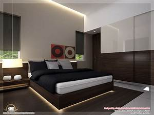 Beautiful home interior designs kerala homes for House interior design bedroom