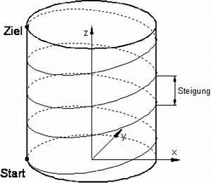 Steigung Berechnen Formel : helikalinterpolation ~ Themetempest.com Abrechnung