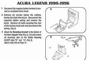 1995 Acura Legend Installation Parts  Harness  Wires  Kits