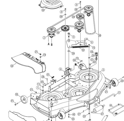mtd 46 inch drive belt diagram yard 46 mower drive belt diagram yard free