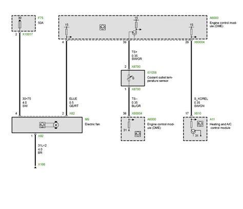 e46 electric fan wiring diagram newer ecudme 3 wire aux fan not working bimmerfest bmw forums