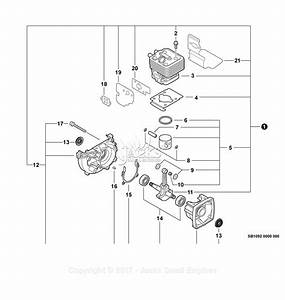 Echo Pb-255 S  N  P09112001001 - P09112999999 Parts Diagram For Engine  Short Block