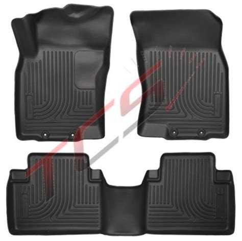 weathertech floor mats nissan rogue 2017 husky liners weatherbeater black floor mats nissan rogue 2014 2016 front rear ebay