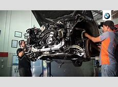 Bmw 550 F10 engine removal N63 Removendo motor bmw 550