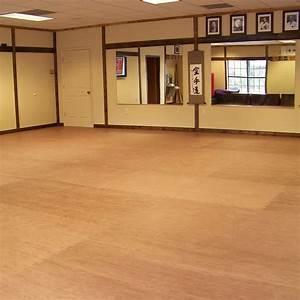 wooden floor mat, Karate Mats Showing Foam Wood Grain