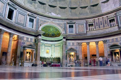 cupola pantheon roma architecture painting and the human figure