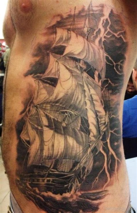 Ship Tattoo by Ship Tattoos Tattoo Designs Tattoo Pictures