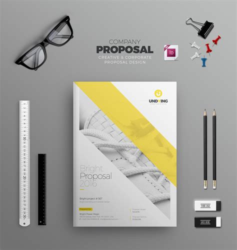 Bi Fold Brochure Design Templates Indd Business Bi Fold Brochure Design Template