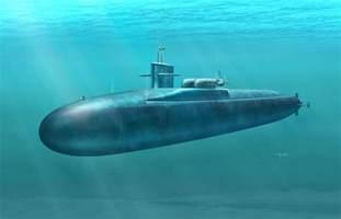 USS Ohio Class Submarine Kit