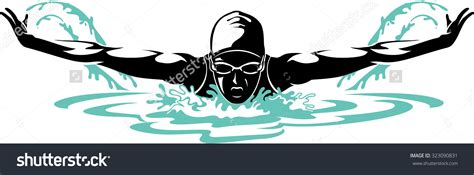swimming breaststroke clipart swimming clipart butterfly stroke pencil and in color