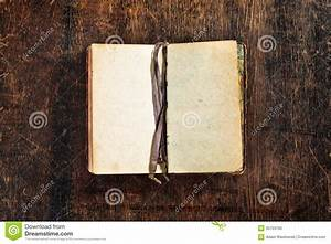 Old Book With Blank Pages Stock Photo - Image: 35703760