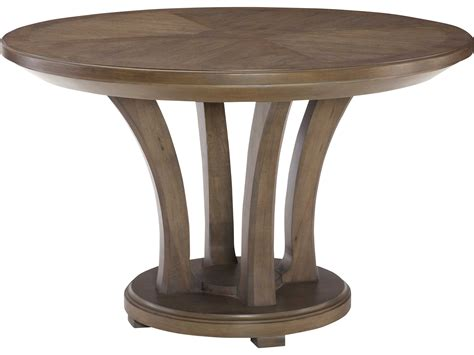 grey wash dining table american drew park studio weathered taupe with gray wash 4096