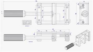 Wooden Bench Vise Drawings With Dimensions Blueprints