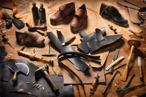 tools materials     started  shoemaking