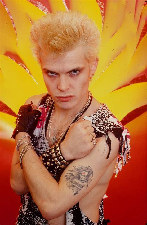 billy idols  style  rocker inspires fashion