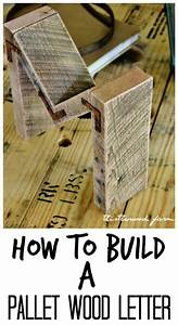 how to build a pallet wood letter pallet wood diy With pallet letters