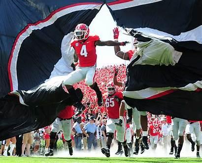 Georgia Bulldogs Hardman Mecole Athens Football Field
